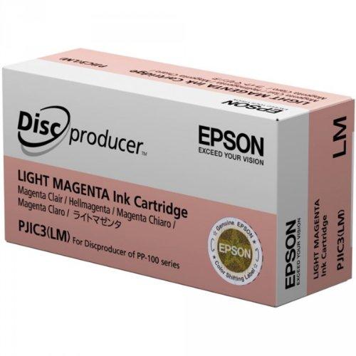 Epson C13S020449 Cartridge PJIC3 für PP-100, hellmagenta (Discproducer Epson)