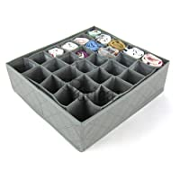Periea Drawer Organiser 30 Compartments (Grey) - Fosy
