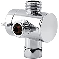 Acogedor Válvula de 3Vías Adaptador en T de Ducha para Cuarto de baño