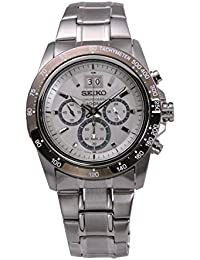 Seiko Lord Analogue White Dial Silver Stainless Steel Bracelet Men's Watch