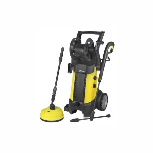 Euromac Force 2500 Ind Upright Electric 440L/H 2500 W Black, Yellow Pressure Washer - Pressure Washers (vertical, Electric, Black, Yellow)