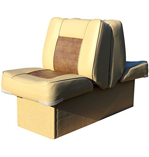 Back-to-Back-Sitz mit Kunststoffrahmen, sand-braun