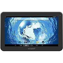 "Sunstech TAB97QC - Tablet de 9"" HD (WiFi, Quad Core 1.2 GHz Allwinner A31S, 1 GB de RAM, 8 GB de memoria interna, Android 4.2.2 Jelly Bean) negro"