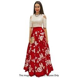 New Red lehenga choli for girls with western look specially for girls and women lehenga choli Navaratri