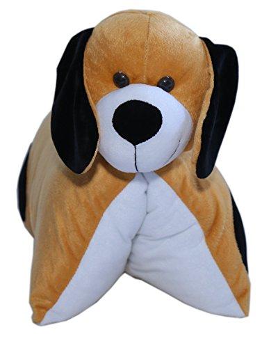 Amardeep and Co ad101 Fun Pillow - Dog (Brown)