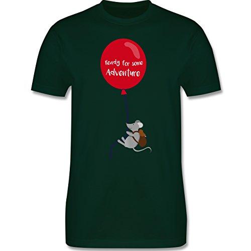 Sonstige Tiere - Ready for some Adventure - Herren Premium T-Shirt Dunkelgrün