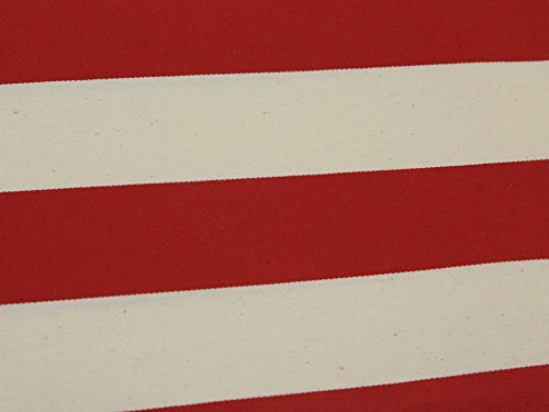 Deckchair Canvas Fabric Bournemouth Stripe - per metre by Minerva Crafts