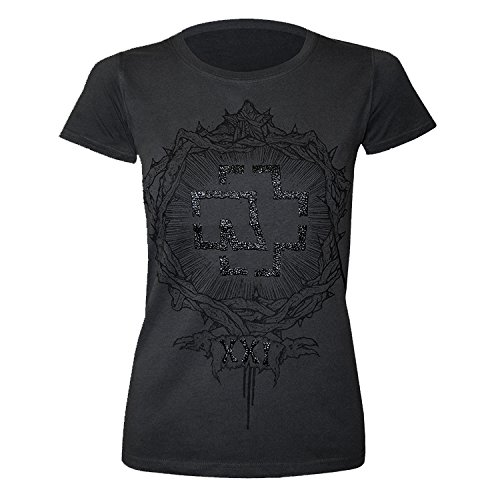 "Rammstein, T-shirt per donne ""XXI"" (S)"