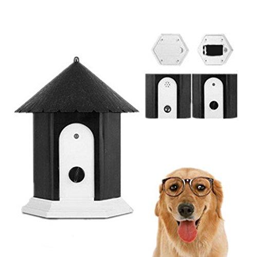 ECMQS Hund Ultraschall Anti Bellen Repeller Hund Outdoor Antibell Trainer Barking Stoppen Trainingsgerät Für Pet Hunde Liefert -