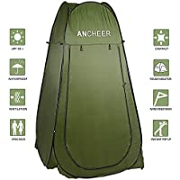 ANCHEER Pop Up Tent Shower Tent Waterproof Portable Set Up Toilet Changing Room Camping Beach Dresses Tent with Carry Bag