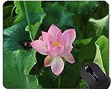 Yanteng Tapis de Souris ornemental avec Fleur de Lotus et Bordure verrouillable - Tapis de Souris pour Jeux de société Lotus Rectangle...
