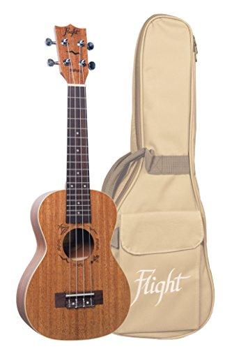 Flight Duc323 Concert Ukulele Mahogany With Bag: Zubehör Instrumente für Ukulele