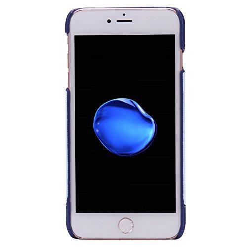 iPhone 7 Plus Coque,iPhone 7 Plus Case,iPhone 7 Plus Cover - Felfy Super Slim Mince PC Plastic Case Motif de Couleur Design Coque Housse de Protection Etui Anti Scratch Antichoc Case Cover Case Bumper Plume D'oie