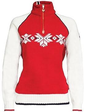 Dale of Norway - Jersey para mujer Sochi, color frambuesa/blanco roto/azul marino, talla M, 92151-B