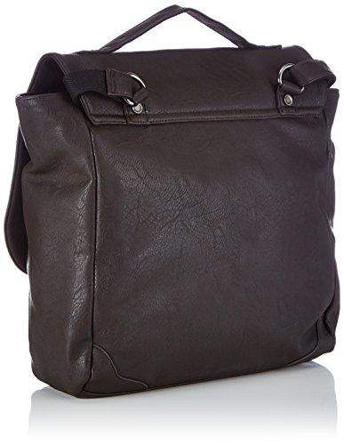 Frankie's Garage Workers Bag B21312113-020 Herren Henkeltaschen 34x30x13 cm (B x H x T) Braun (darkbrown 020)