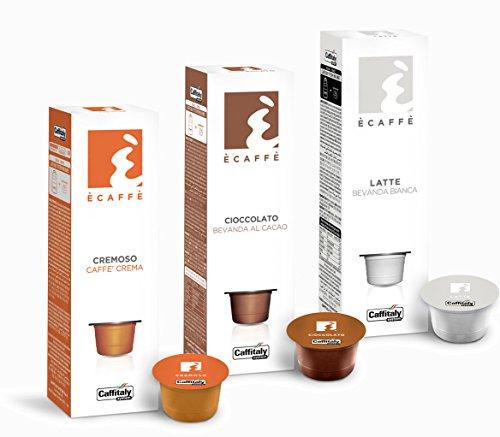 Ècaffè Caffè Crema und Kakaokapseln