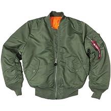 vari colori 852d3 94462 bomber militare - Amazon.it
