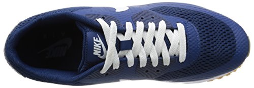 Nike Air Max 90 Ultra Essential, Baskets Homme Azul (Coastal Blue / White-Cstl Blue)