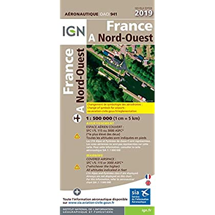 France Nord-Ouest : 1/500 000