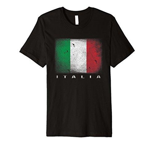 Italienische Flagge T-Shirt | Italien Shirt | Italia Tee