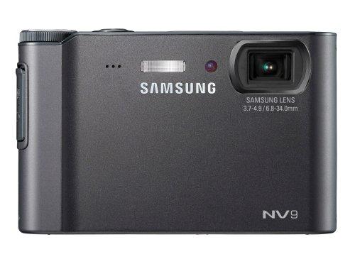 Samsung NV9 Digitalkamera (10,2 Megapixel, 5-Fach Opt Zoom, 6,9 cm (2,7 Zoll) Display, Bildstabilisator) schwarz 10.2 Mp, 2.7