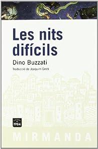 Les nits difícils par Dino Buzzati
