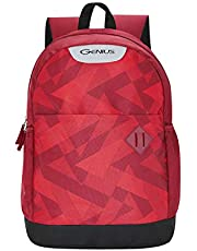 Genius Blaze 22 litres Dark red Casual Backpack