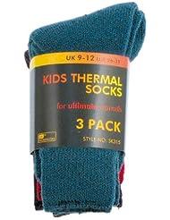 Octave - Niños calcetines térmicos 3 pares niños calcetines térmicos en varios colores
