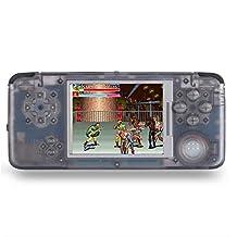 QQYOUXIJI Retro Consola de Juegos portátil 32GB Reproductor de Videojuegos portátil de 3.0 Pulgadas Integrado en