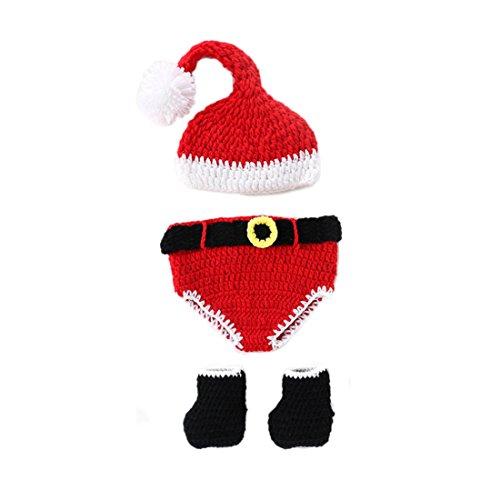 tfits, Baby Kostüm, Neugeborene Baby Kostüm Tier Weihnachten 0-3 Monate (Das Tier Baby Kostüm)