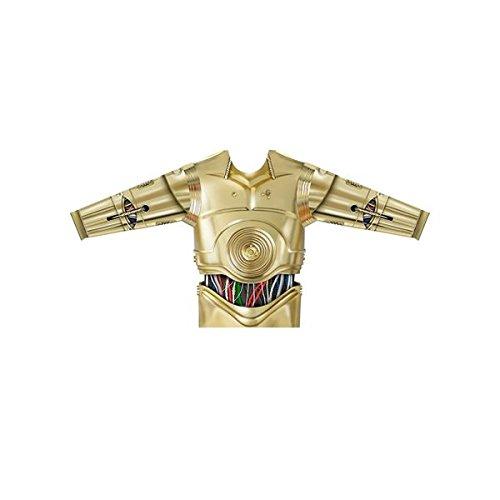 ng costumes231022C3PO Herren Lange Ärmel Shirt (groß) (Tier Dress Up Kostüme Erwachsene)