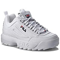 FILA DISRUPTOR SNEAKER SHOES - WHITE (36 EU, WHITE)