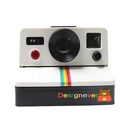 Ocamo Caja de papel higiénico con diseño de cámara de fotos