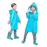 Mini Balabala Giacca Antipioggia per Bambini Leggera Impermeabile Regenjacke Basic Impermeabile Unisex Bambini Impermeabile con Cappuccio per Bambini