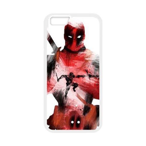 Deadpool coque iPhone 6 4.7 Inch Housse Blanc téléphone portable couverture de cas coque EBDXJKNBO12145