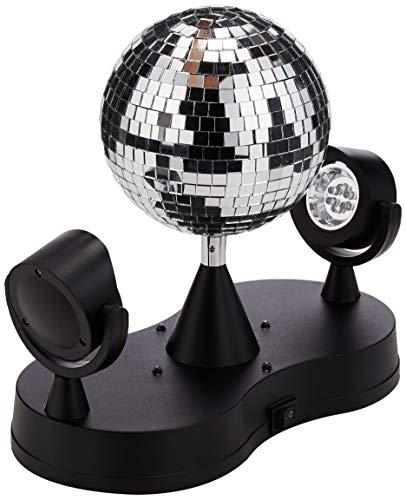 PartyFunLights Disco lights, 16 LED Lights, 13 cm Ø Ball