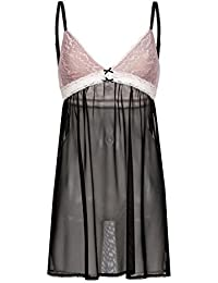 Vive Maria Sweet Pin-Up Negligé black/lightpink