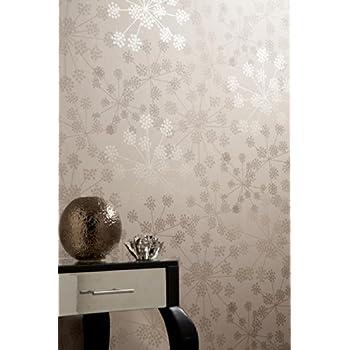 Boutique Sparkle Shimmer Brown Wallpaper