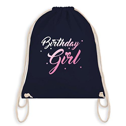 Compleanno - Compleanno Ragazza - Borsa Da Palestra I Borsa Da Ginnastica Blu Navy