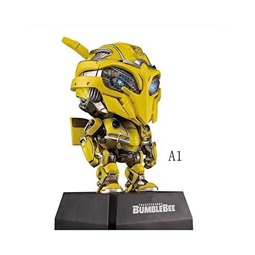 Bumblebee Mann Kostüm - MA SOSER Bumblebee-Modell, echte Mini-Transformers Hornet Auferstehungscharaktere, können for eine einzelne verkauft Werden ( Farbe : A1 )