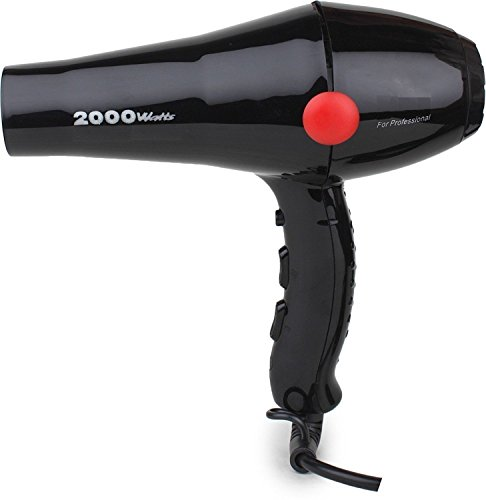 Isabella 2800 Hair Dryer With Cool Air And Hot - 2000W (Black) 2