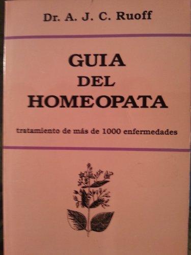 Descargar Libro Guia del homeopata tratamiento de mas de 1000 de Dr.A.J.C. Ruoff