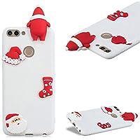 Handyhülle für Huawei P Smart,CESTOR Luxus Niedlich [3D Weihnachtsmann Serie] Ultra Dünn Weich Flexibel TPU Silikon... preisvergleich bei billige-tabletten.eu