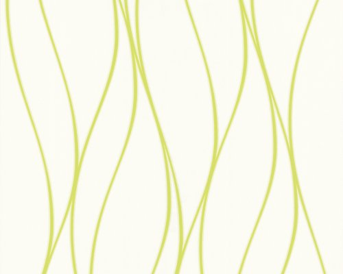 A.S. Creation 182951 Preiswerte Vliestapete OK 4 weiß/grün