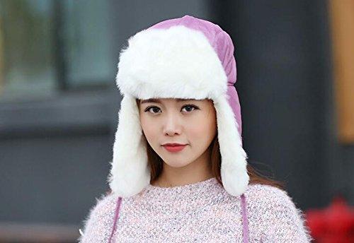 Women Proof Trapper Hat Thicken Snow Ski Hat Cap Winter Warm Sport