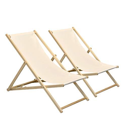 Sedie A Sdraio In Miniatura.Sedia Sdraio Lettino Da Spiaggia Bianco O Naturale In Legno Mini
