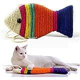 NUOLUX Griffoir Sisal Planche Scratching pour Chats (couleur aléatoire)