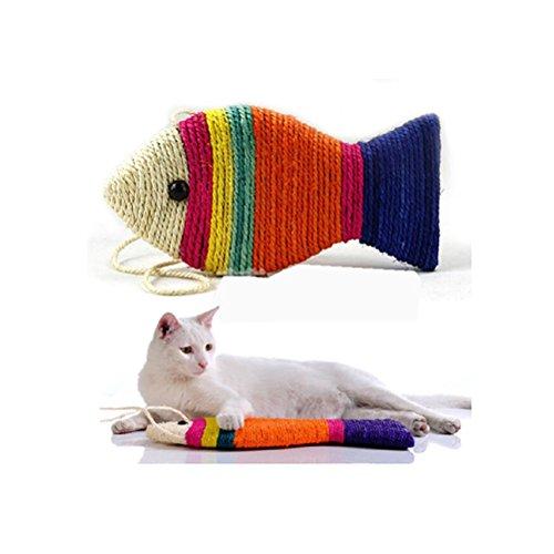 Pixnor Kratzbaum Brett Scratching für Katzen Spielzeug (zufällige Farbe) -