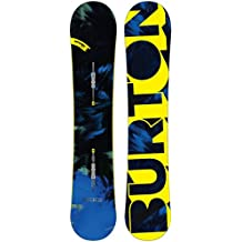 Burton Snowboard Ripcord - Tabla de freestyle para snowboarding, talla 58W