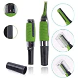 Alcoa Prime(MT) Micro Touch Max Personal Ear Nose Neck Eyebrow Hair Trimmer - Green